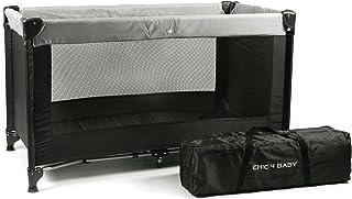 CHIC 4 BABY 345 90 旅行床 基本款 黑色