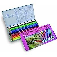 荷尔拜因彩色铅笔12色设计风格套装
