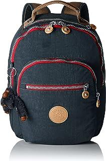 Kipling clas seoul 学校背包,蓝色(真海军蓝),34厘米,10升