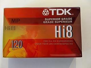 TDK HI8 120 MP 高级摄像机胶带