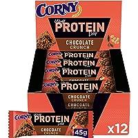 Corny Your 蛋白质巧克力巧克力棒 30%蛋白质,无糖添加剂,12包(12 x 45g)