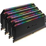 CORSIAR 美商海盗船 DOMINATOR PLATINUM RGB 32GB(4x8GB)DDR4 3600(PC…