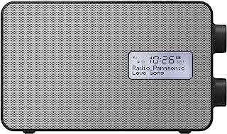 Panasonic 松下 RF-D30BTEB-K 智能功能收音机带 USB 智能手机充电,蓝牙连接 & DAB+