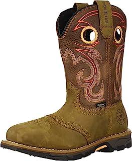 rish Setter Work 女士 Marshall 防水钢头靴 9 英寸