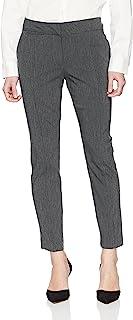 Briggs New York 女式小香*裤 杂灰色 8P