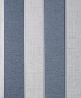 Larson 条纹*蓝/银色