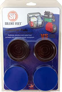 工业静音脚 - 发电机、空气压缩机和电源设备的防震垫