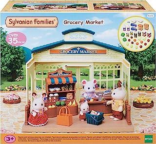 Sylvanian Families 森贝儿家族 5315 杂货市场玩具套装 收藏品,共30样