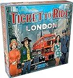 Days of Wonder Ticket to Ride London 桌游 | 成人家庭棋盘游戏 | 巴士游戏…