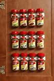 Bellemain Spice 夹带塑料罐 - 3 件套,可装 12 罐