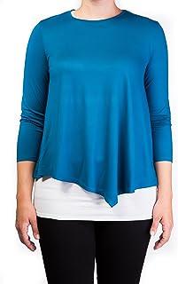 mama basics 双层哺乳上衣,哺乳衬衫孕妇T恤孕妇衬衫孕妇哺乳上衣上衣长袖哺乳服孕妇服装,*和奶油色