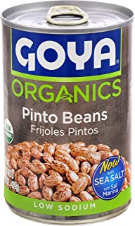 Goya Foods Organic Beans, Pinto, 15.5 Ounce (Pack of 24)