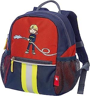 Sigikid 帆布背包 Klein Frido Firefighter 儿童背包 25 厘米 红色(蓝色/旋转)