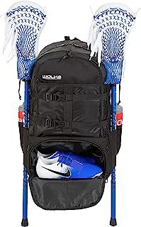 Wolks XL 优质长曲棍球包,高品质运动长曲棍球背包,适合男士和女士;非常适合曲棍球、曲棍球、足球和旅行时使用