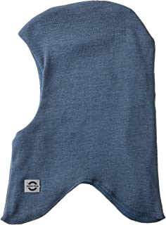 MIKK-Line - 麦尔登羊毛*巴拉克拉法帽/面革采用防风技术 5-6Y 蓝色 9100-298-110/116-298-5-6Y
