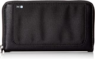 Moleskine - ID 系列 - 拉链钱包 - 1 个硬币内袋和 12 个银行卡隔层 - 尺寸 11 x 2 x 18 厘米 - 彩色黑色