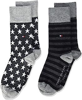 Tommy Hilfiger 汤美费格 中性儿童袜(2件装)