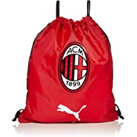 PUMA 彪马 男式 AC Milan TeamFinal 健身房均码,探戈红/Puma 黑色