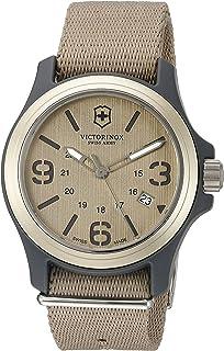 Victorinox 瑞士*男式原装瑞士石英手表尼龙表带
