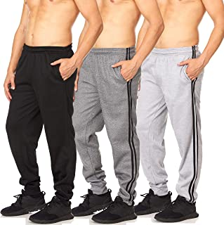 Essential Elements 3 件装:男式 Tech 抓绒慢跑运动裤