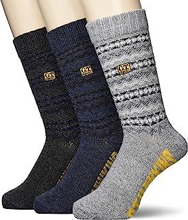 GUNZE 郡是 袜子 G.T.HAWKINS 袜子 足弓支撑 圆筒长度 3双装 男士 A混装 25-27