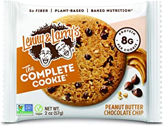 Lenny & Larry Complete Cookie 12x56g Peanut Butter Chocolate Chip
