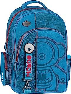 Graffiti Monskey 学生背包,44 厘米,蓝色