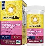 Renew Life #1 女性益生胶囊,250亿美元CFU,10株菌株,稳定的货架,无麸质乳制品和大豆,30粒,植物区…