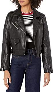 [BLANKNYC] Blank NYC 女士人造皮革机车夹克