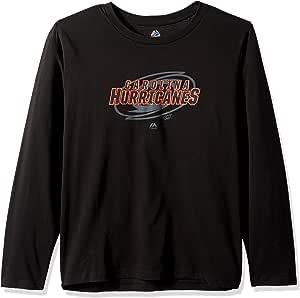 NHL Carolina Hurricanes 长袖 Pop Screen T 恤,3X,黑色