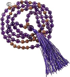 Mala 宝石项链 紫水晶(内和平)