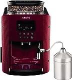 Krups EA816570 咖啡机,浓缩咖啡机,红色