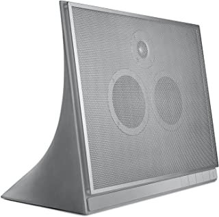 Master & Dynamic MA770 设计-音响器(混凝土外壳,可拆卸钢栅,铬盒,蓝牙 4.1)银色