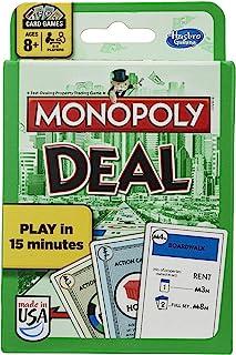 Hasbro 孩之宝 Monopoly 地产大亨 纸牌游戏