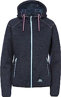 Trespass 女士Albatross 保暖羊毛夹克带帽,500g/m3