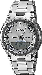 Casio 卡西欧 男式 AW80D-7A 运动计时闹钟 10 年电池数据库手表