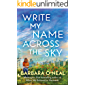 Write My Name Across the Sky: A Novel (English Edition)