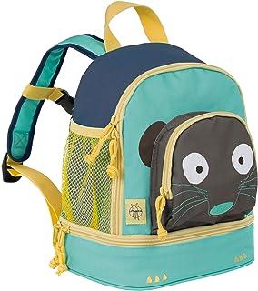 Lässig Lässig Kindergartenrucksack 迷你背包,Wildlife Erdmännchen 儿童 27 厘米,多色(Blau)