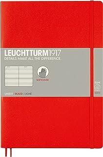 LEUCHTTURM1917 灯塔B5横格创作本红色软封皮(B5)