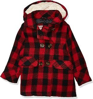 URBAN REPUBLIC 女孩双排扣人造羊毛外套