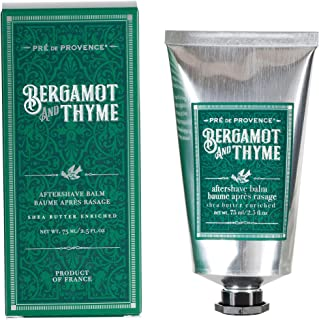 Pre de Provence Natural, Repairing, Shea Butter Enriched Men's After Shave Balm - 2.5 Ounce Tube