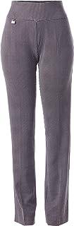 SLIM-SATION 女式套穿纯色易穿针织休闲腿裤