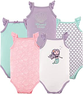 Hudson Baby 男女皆宜的婴儿棉质无袖连身衣