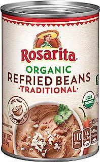 Rosarita Organic Refried Beans, 16 Oz. (Pack of 12)