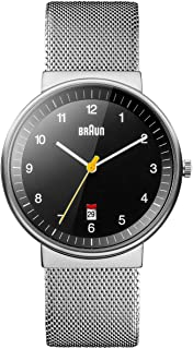 Braun 博朗 BN0032WHSLMHG 男式经典模拟石英手表