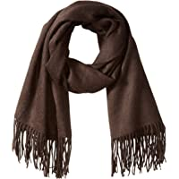 Sofia 羊绒女式羊绒自流苏围巾