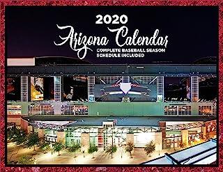 "Seize the Season 2020年日历 8.5"" X 11"" 亚利桑那州"