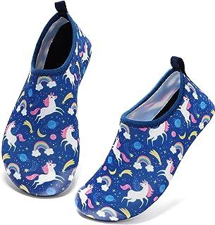 Tomilee 男孩女孩游泳鞋儿童沙滩冲浪涉水鞋水鞋赤脚速干水袜幼儿泳池鞋