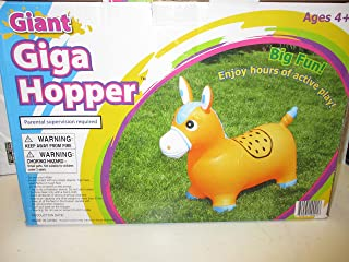 Giga 儿童充气巨型马料斗可承重 80 磅。