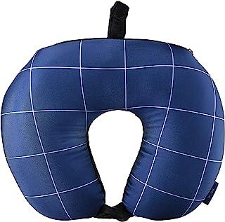 [西弗] 2in1 枕头(颈枕&靠垫) 丰富的花纹 小巧 靠垫 TRC7043 33 cm 0.24kg 387.窗格藏青